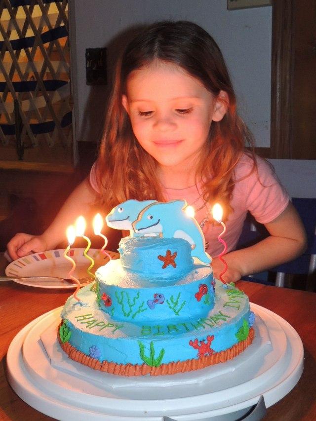 Ivy 6 birthday