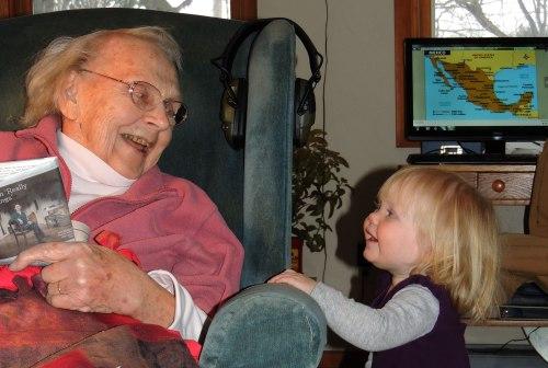 Grandma Elma and Jane