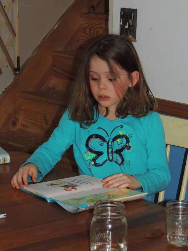 Ivy reading