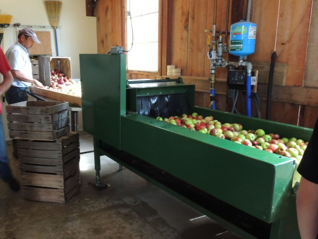 The apple washer