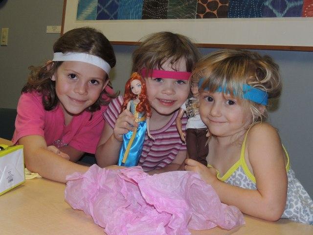 Clara fourth birthday