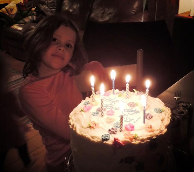 Ivy 7th Birthday