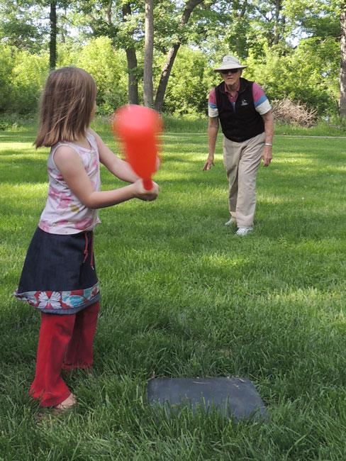 Clara batting
