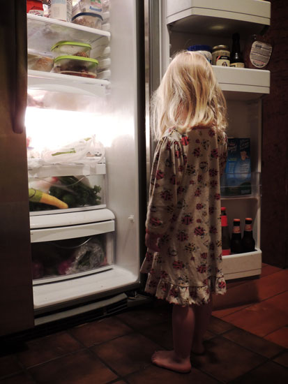 Jane in the fridge