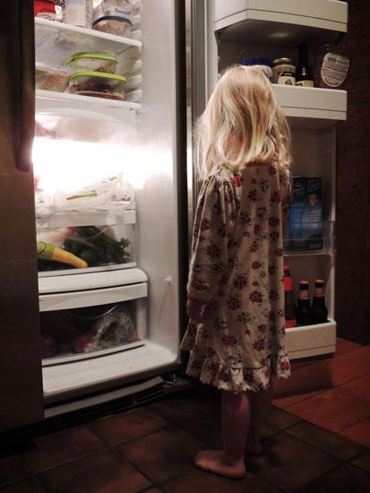 Jane in the fridge