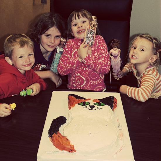 Clara's fifth birthday