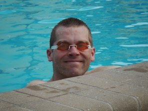 John in the pool