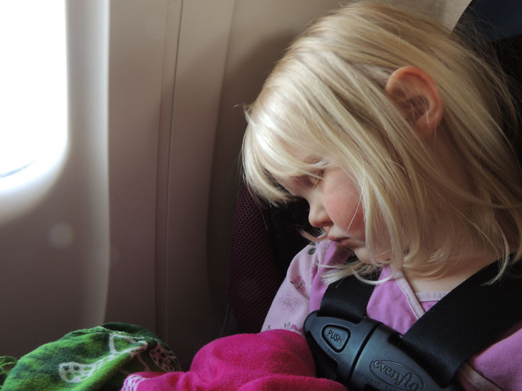 Jane's first airplane ride
