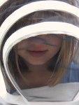 Clara in bee suit