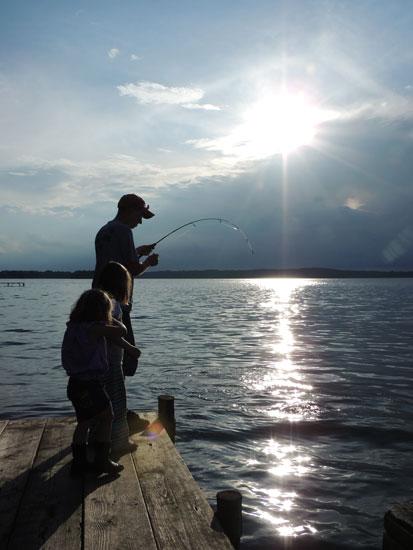 The prettiest carp fishing picture.