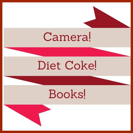 Camera, Diet Coke, Books
