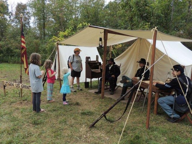 Kids meet General Grant