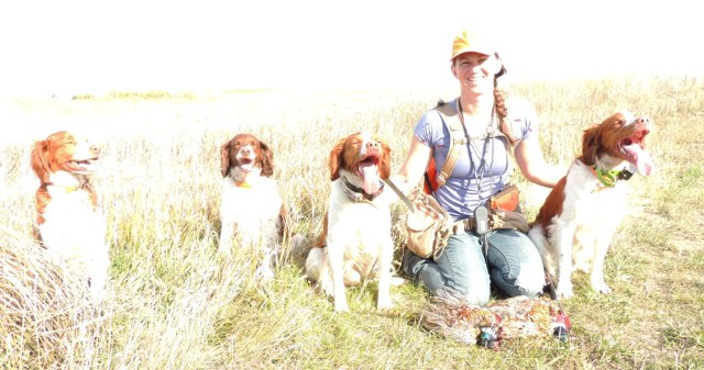 This picture is blown out but I had to use it anyway. My first three bird limit with a pile of my favorite dogs- photography be damned it was a good day!