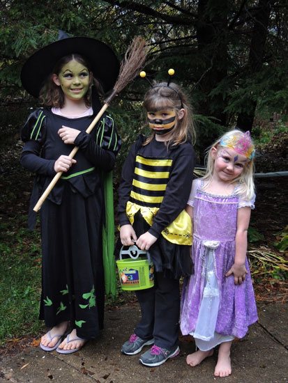 Wicked Witch Ivy, Bee Clara and Princess Jane