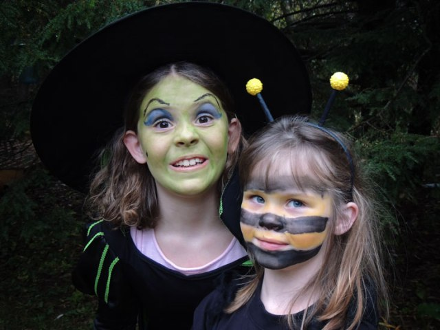 Wicked Witch Ivy and Clara Bee