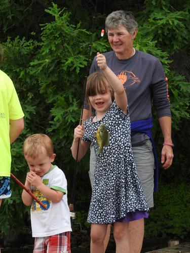 Jonas, Clara and Grandma Mary