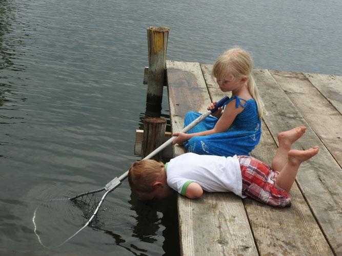 Jonas and Jane fishing