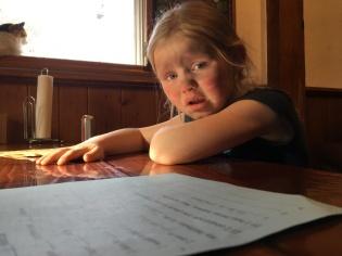 Kids and their homework...